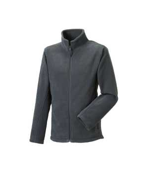 Pánska fleece bunda(Full Zip Outdoor Fleece RUSSELL)>šedá (convoy)>4XL