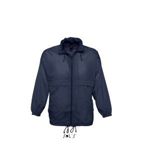 Unisex bunda (SOLS SURF UNISEX WATERPROOF WINDBREAKER)>modrá (navy)>L