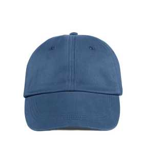 6 panelová šiltovka (ANVIL LOW-PROFILE BRUSHED TWILL CAP) > modrá (navy)