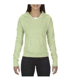 "Dámska mikina (Comfort Colors""LADIES' HOODED SWEATSHIRT"")>zelená (celadon)>XL"