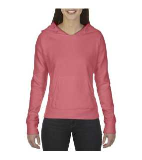 "Dámska mikina (Comfort Colors""LADIES' HOODED SWEATSHIRT"")>ružová (watermelon)>2XL"
