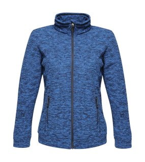 Dámska bunda (REGATTA THORNLY WOMEN - FULL ZIP MARL FLEECE) > modrá (navy marl) > L