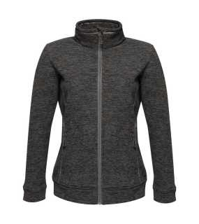 Dámska bunda (REGATTA THORNLY WOMEN - FULL ZIP MARL FLEECE) > šedá (seal marl) > S