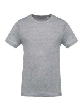 Pánske tričko(KARIBAN MEN'S ROUND NECK SHORT SLEEVE T-SHIRT) > šedá (oxford) > XL