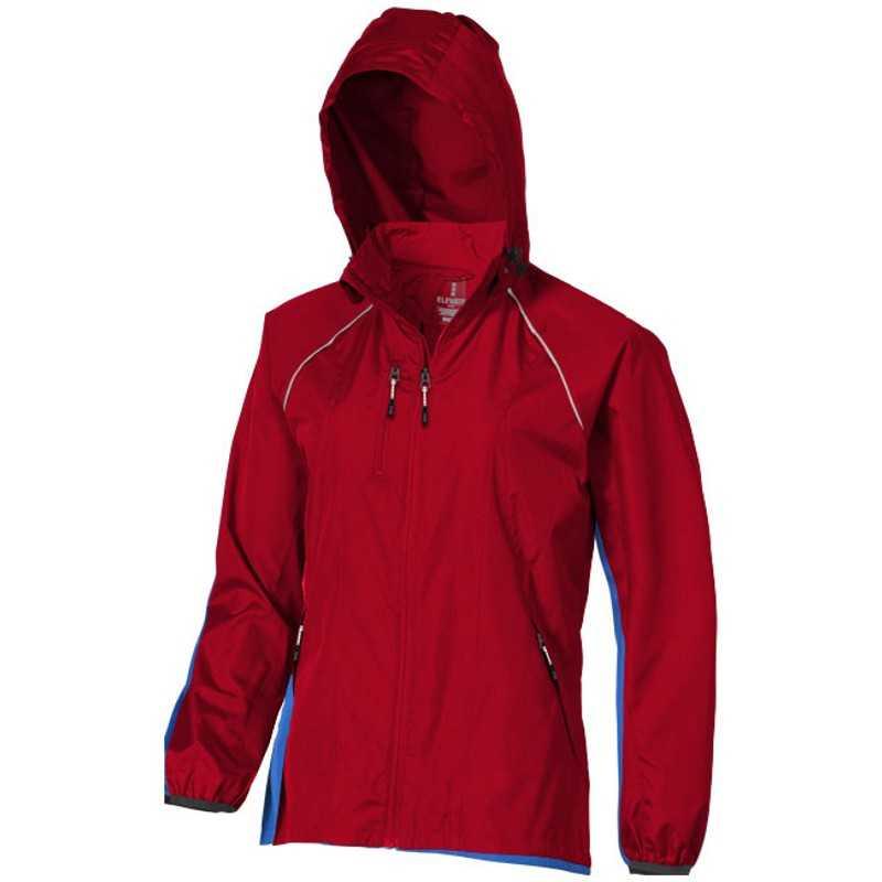 Dámska bunda (ELEVATE Nelson Packable Ladies Windbreaker)   červená   L. reklamné  predmety ... 854c3ec8c27