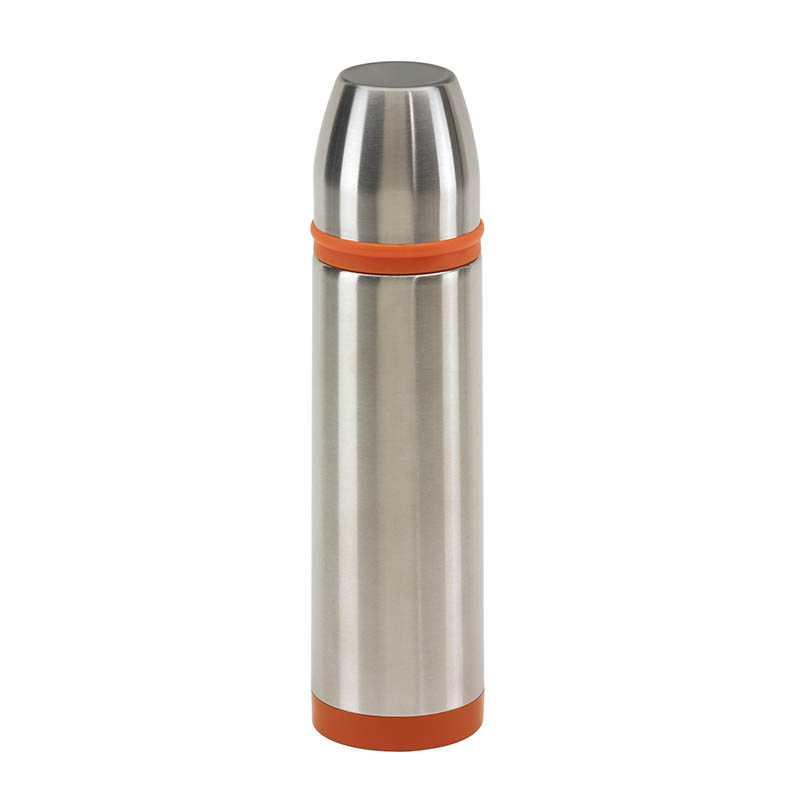Termoska   strieborná   oranžová - REPRE - reklamné predmety a7f86b3c65b