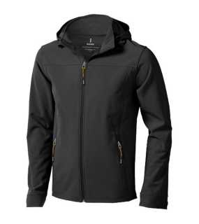 Pánska softshellová bunda (ELEVATE Langley Softshell Jacket) > šedá (anthracite) > XL