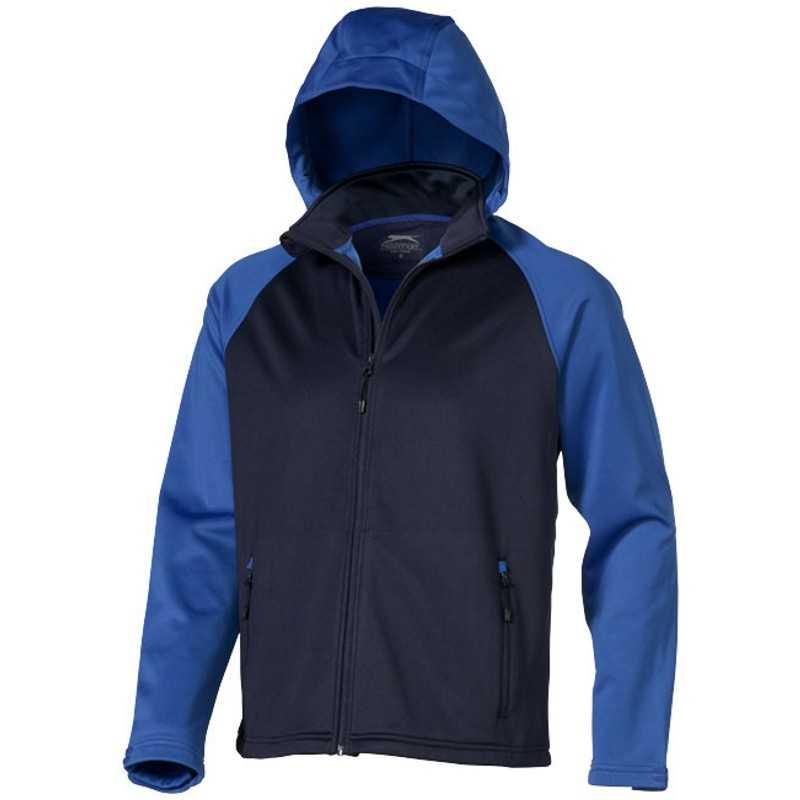 Pánska softshellová bunda (SLAZENGER Softshell)   modrá(navy) modrá(sky)    XXL 19897e5527f