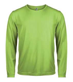 Pánske tričko (PROACT MENS LONG SLEEVE SPORTS T-SHIRT) > zelená (lime) > XL
