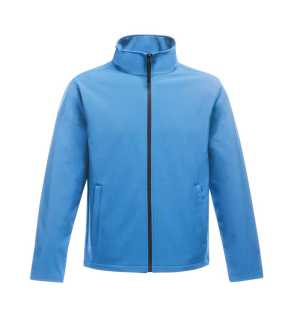 Pánska bunda (REGATTA ABLAZE MEN'S PRINTABLE SOFTSHELL)>modrá (french) / modrá (navy)>L