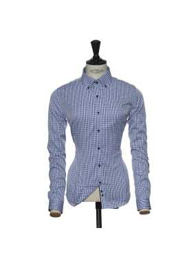 Dámska košeľa (James Harvest SHIRT RED BOW 28 LADIES) > modrá (sky) / modrá (navy) > XL