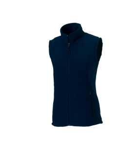 Dámska fleece vesta(Outdoor Fleece Gilet RUSSELL)>modrá (frenchnavy)>M