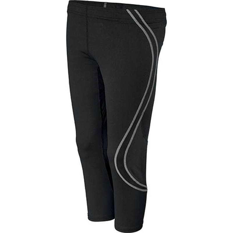 1e39c30001d8 Dámske športové nohavice (KARIBAN SPORT LADIES 3 4 RUNNING PANTS)   čierna    XS