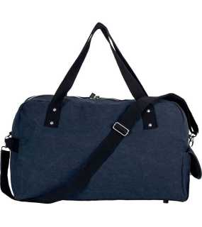 "Taška (Kimood""TRAVEL BAG IN COTTON CANVAS"")>modrá (washed navy)"