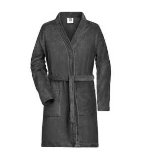 Dámsky župan(MB Ladies Bathrobe) > šedá (graphite) > S/M