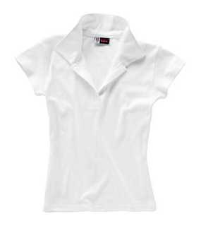 Hawaii Ladies' Polo; White; M