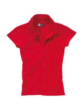 Hawaii Ladies' Polo; Red; XL