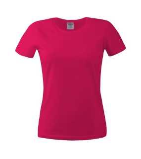 273eb2d2d2bc Dámske tričko (KEYA Women s Crew Neck t-shirt 180)   ružová(wine