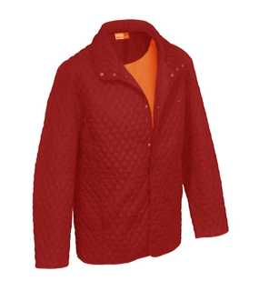 MENS GOLF JACKET;FIRE RED/ORANGE; XL