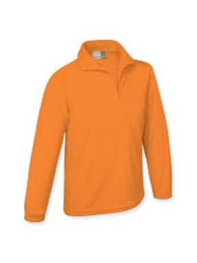Mikina MICRO FLEECE;ORANGE; XL